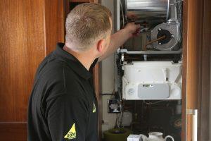 Arktek gas boiler servicing